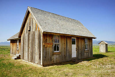 Photograph - Chester Call Cabin by Roxie Crouch