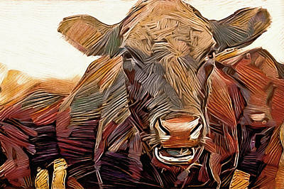 Photograph - Chester County Cattle by Susan Maxwell Schmidt