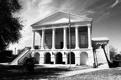 Photograph - Chester South Carolina Court House Day 2 Grain by Joseph C Hinson Photography