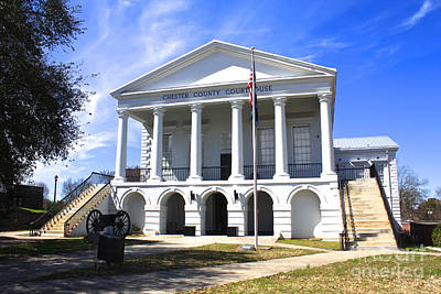 Photograph - Chester South Carolina Court House Day 1 by Joseph C Hinson Photography