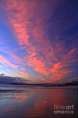 Photograph - Chesterman Beach Sunset Portrait by Adam Jewell
