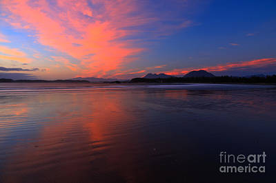 Photograph - Chesterman Pink Sunset by Adam Jewell