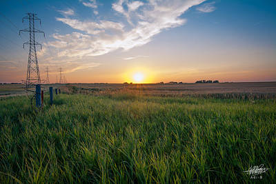 Photograph - Chestermere Sunset by Adnan Bhatti