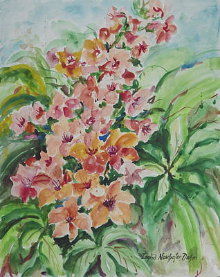 Painting - Chestnut Blossoms by Ingrid Dohm