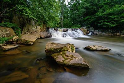 Photograph - Chestnut Creek Falls  by Michael Scott