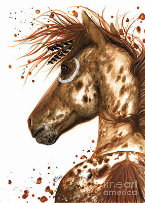 Painting - Appaloosa Horse by AmyLyn Bihrle