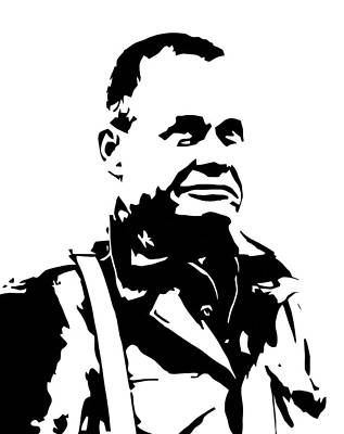 War Hero Digital Art - Chesty Puller by War Is Hell Store