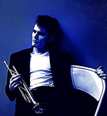 Digital Art - Chet Baker Born To Be Blue by Joy McKenzie