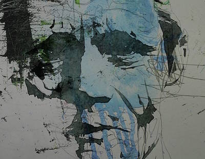 Jazz Legends Wall Art - Painting - Chet Baker  by Paul Lovering