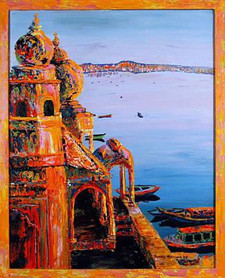 Painting - Chet Singh by Art Nomad Sandra  Hansen