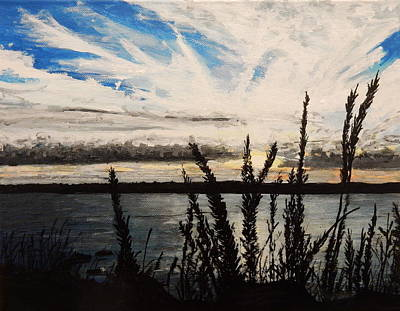 Painting - Cheticamp Sunset by Betty-Anne McDonald