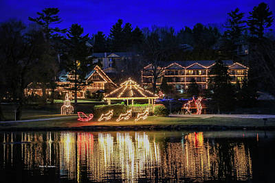 Photograph - Chetola Lights by Bluemoonistic Images