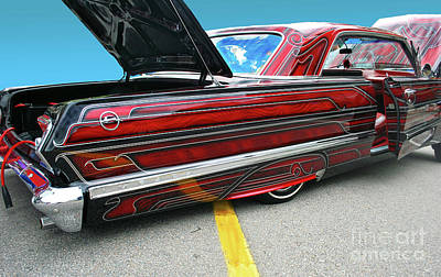Photograph - Chev Impala 1 by Bill Thomson