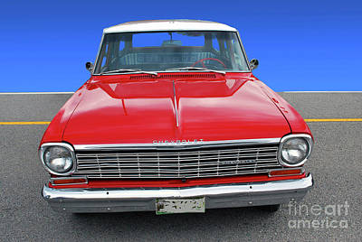 Photograph - Chev Wagon by Bill Thomson