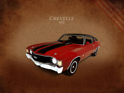 Chevrolet Chevelle Photograph - Chevelle 402 by Mark Rogan