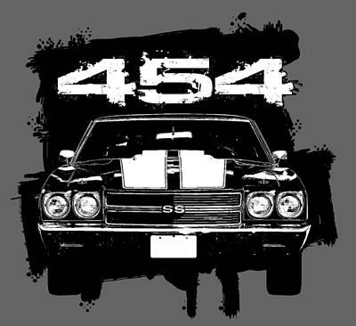 Nirvana - Chevelle 454 by Paul Kuras