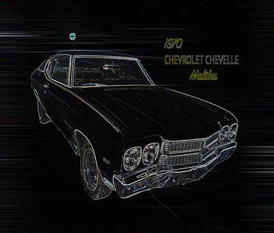 Malibu Mixed Media - Chevelle by Cherokee Richardson
