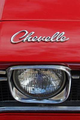 Photograph - Chevelle by CE Haynes