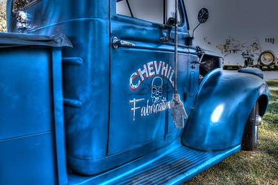 Photograph - Chevhill Fabrications by Ian  Ramsay