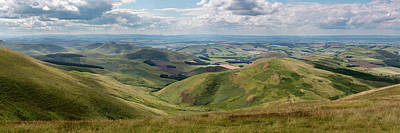 Photograph - Cheviots Looking North by Gary Eason