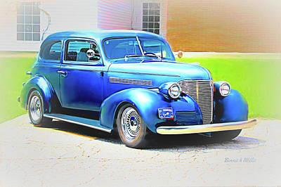Photograph - Chevrolet 1939 Coupe by Bonnie Willis