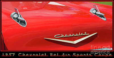 Photograph - Chevrolet 27 by Wendy Wilton