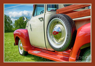 Photograph - Chevrolet 31-hdr by Wendy Wilton