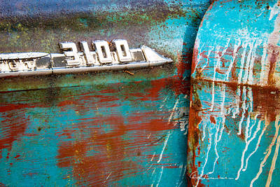 Photograph - Chevrolet 3100 by Dan Beauvais