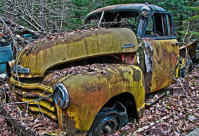 Photograph - Chevrolet 3100 by Glenn Gordon
