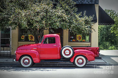 Photograph - Chevrolet 3100 by Lynn Sprowl