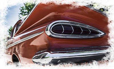 Wall Art - Photograph - Chevrolet 59 by Michel Emery