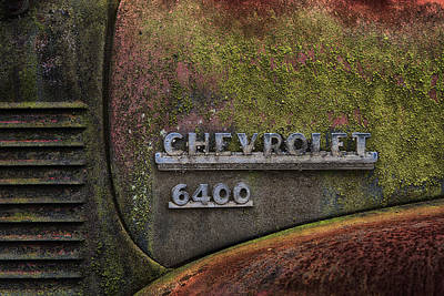 Photograph - Chevrolet 6400 by Dick Pratt