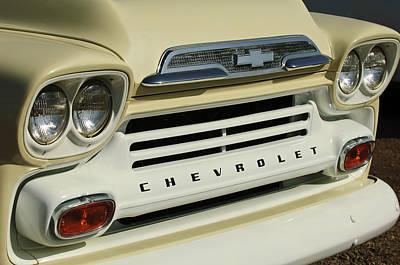 Headlight Photograph - Chevrolet Apache 31 Fleetline Front End by Jill Reger