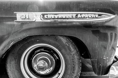 Photograph - Chevrolet Apache Fender by Steven Green
