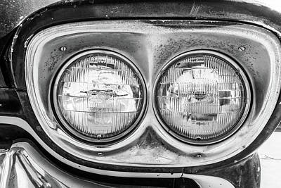 Photograph - Chevrolet Apache Headlights by SR Green