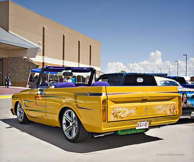 Photograph - Chevrolet Blazer_a1 by Walter Herrit