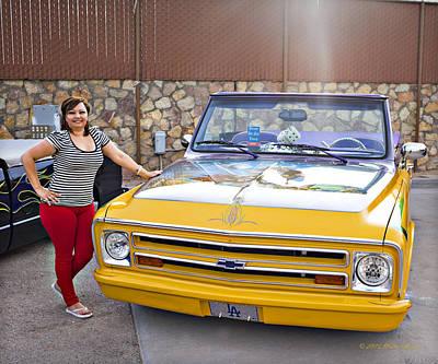 Photograph - Chevrolet Blazer_a2 by Walter Herrit