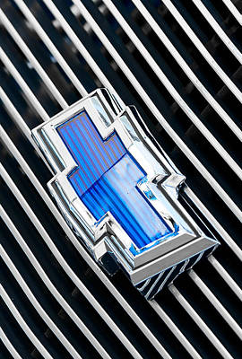Photograph - Chevrolet Blue by Rospotte Photography