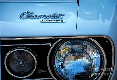 Photograph - Chevrolet Camaro by David Millenheft