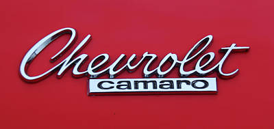 Photograph - Chevrolet Camaro by Ericamaxine Price