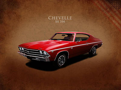 Muscle Cars Photograph - Chevrolet Chevelle Ss 396 by Mark Rogan