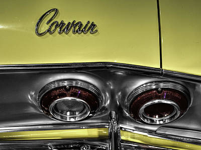 Automobile Photograph - Chevrolet Corvair  V1 by John Straton