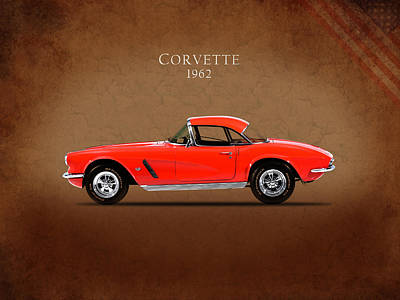 C1 Photograph - Chevrolet Corvette 1962 by Mark Rogan