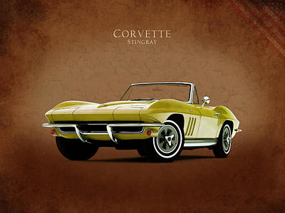 Classic Chevrolet Photograph - Chevrolet Corvette 1965 by Mark Rogan