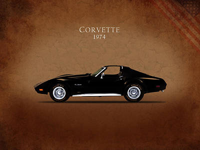 C2 Photograph - Chevrolet Corvette 1974 by Mark Rogan
