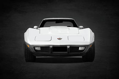 Chevrolet Corvette Sting Ray Art Print by Mark Rogan