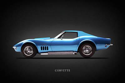 Stingray Photograph - Chevrolet Corvette Stingray 1969 by Mark Rogan