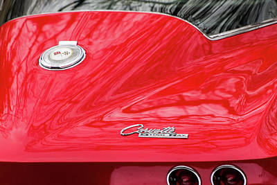 Photograph - Chevrolet Corvette Stingray C2 by SR Green