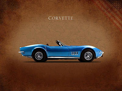 Corvette Photograph - Chevrolet Corvette Stingray by Mark Rogan