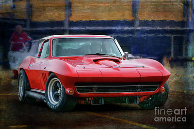 Photograph - Chevrolet Corvette Stingray by Stuart Row